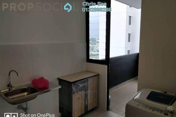 For Rent Condominium at Ken Rimba, Shah Alam Freehold Semi Furnished 3R/2B 1.35k