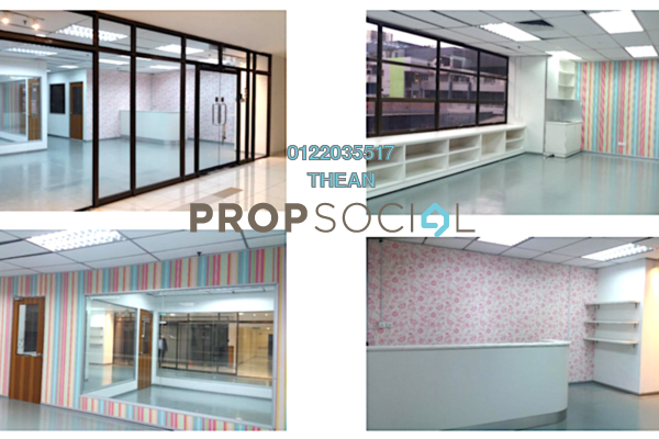 For Rent Shop at Faber Tower, Taman Desa Freehold Semi Furnished 0R/0B 5k