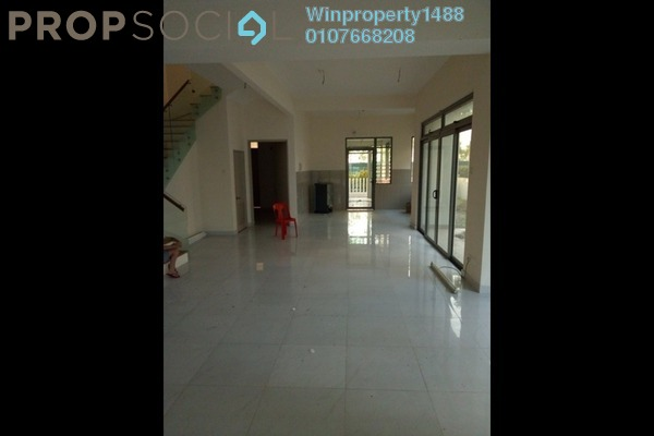 For Rent Terrace at D'Island, Puchong Freehold Unfurnished 5R/5B 2k