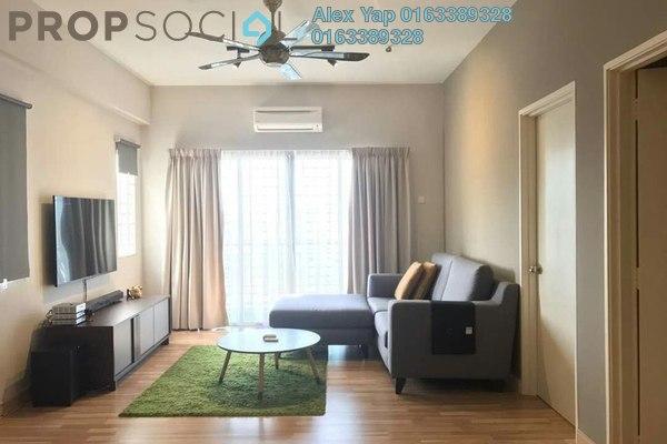For Sale Apartment at Suria Court, Bandar Mahkota Cheras Freehold Semi Furnished 3R/2B 378k