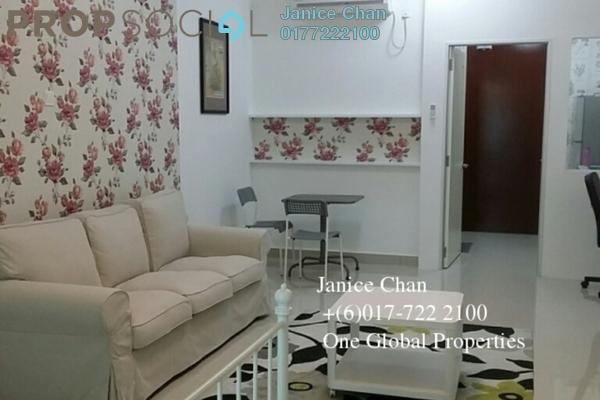 For Rent Serviced Residence at Parc Regency, Johor Bahru Freehold Fully Furnished 0R/1B 1.28k
