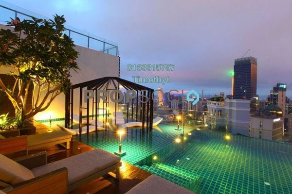 For Rent Serviced Residence at Tribeca, Bukit Bintang Freehold Fully Furnished 0R/0B 3.2k