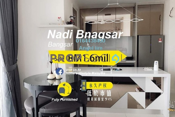 For Sale Condominium at Nadi Bangsar, Bangsar Freehold Fully Furnished 2R/2B 1.6m
