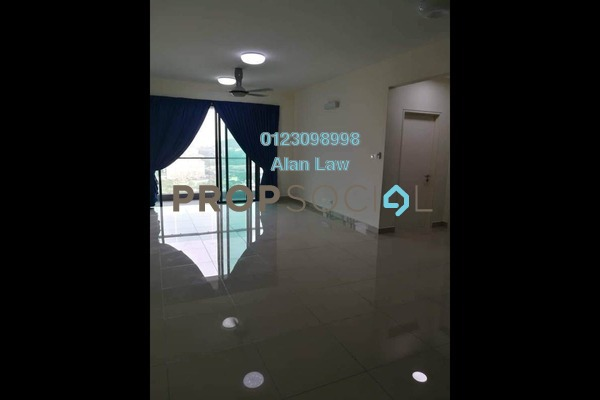 For Rent Condominium at Ascenda Residence @ SkyArena, Setapak Freehold Semi Furnished 3R/2B 1.8k