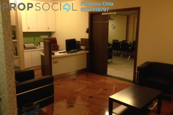For Rent Office at Wisma UOA I, KLCC Freehold Fully Furnished 0R/0B 21k