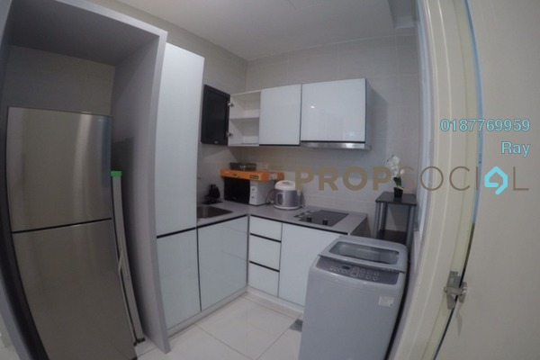 For Rent Condominium at The Court, Sungai Besi Freehold Fully Furnished 2R/2B 1.7k