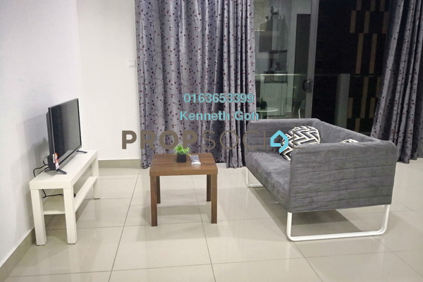 For Rent Condominium at CitiZen, Old Klang Road Freehold Fully Furnished 3R/2B 2.3k