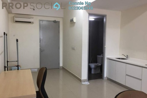 For Rent Serviced Residence at First Subang, Subang Jaya Freehold Fully Furnished 0R/1B 1.4k