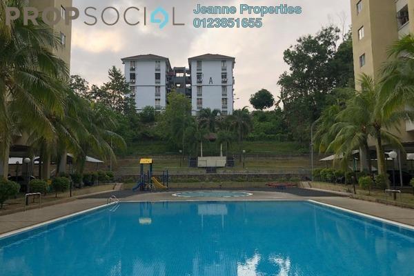 For Sale Apartment at Aliran Damai, Cheras South Freehold Semi Furnished 3R/2B 300k