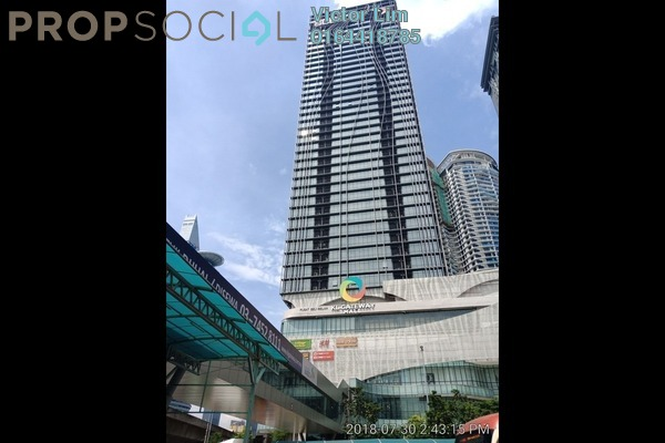 For Rent Office at KL Gateway, Bangsar South Freehold Semi Furnished 0R/0B 18.7k