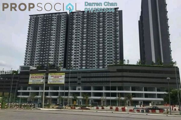For Rent Condominium at Kiara Plaza, Semenyih Freehold Semi Furnished 3R/2B 1.7k