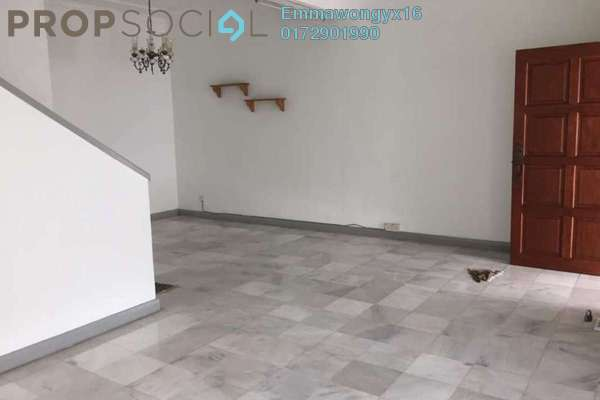 For Rent Terrace at SD9, Bandar Sri Damansara Freehold Semi Furnished 4R/2B 1.8k