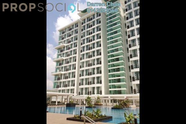 For Rent Condominium at The Scott Soho, Old Klang Road Freehold Semi Furnished 1R/2B 1.6k