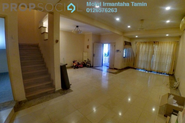 For Sale Terrace at Section U8, Bukit Jelutong Freehold Semi Furnished 4R/4B 840k