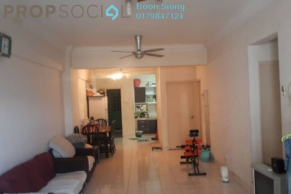 For Rent Apartment at Mandy Villa, Segambut Freehold Semi Furnished 3R/2B 1.25k