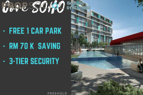 For Sale SoHo/Studio at Core SoHo Suites, Sepang Freehold Semi Furnished 1R/1B 240k