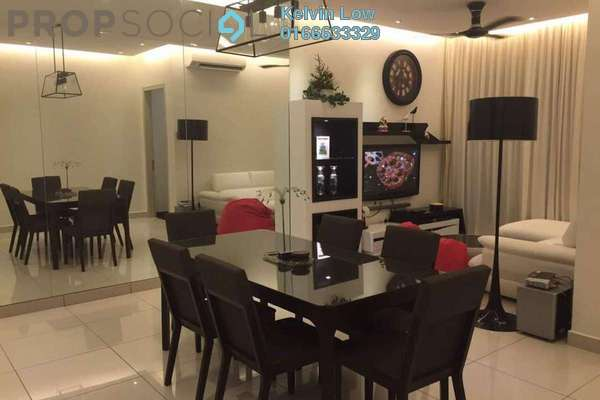 For Rent Condominium at Glomac Damansara Residences, TTDI Freehold Fully Furnished 2R/2B 3.5k
