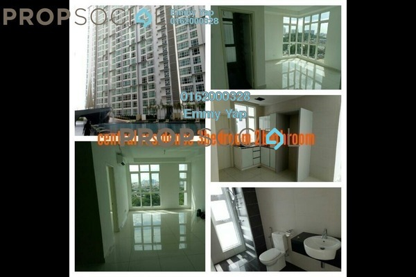 For Rent Condominium at Central Residence, Sungai Besi Freehold Semi Furnished 3R/2B 2k