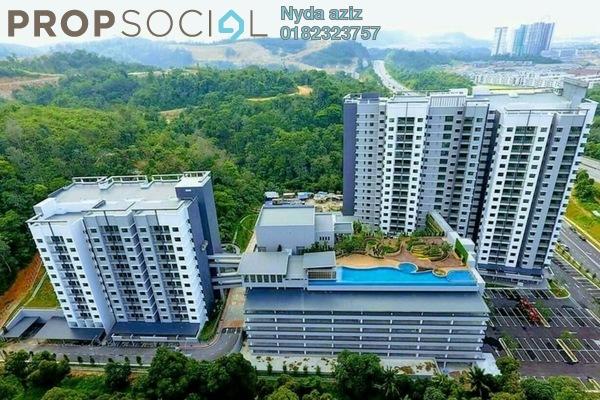 For Rent Condominium at Sutera Pines, Bandar Sungai Long Freehold Unfurnished 3R/2B 1.5k