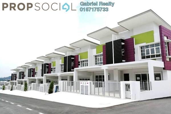 For Sale Terrace at Semanja, Kajang Freehold Unfurnished 4R/4B 889k