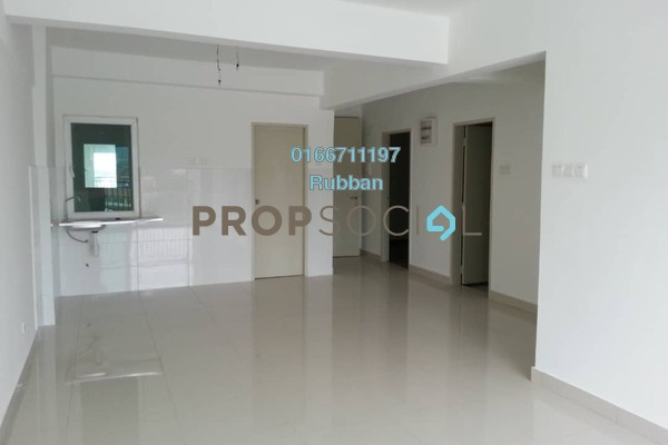 For Sale Condominium at Casa Tropika, Puchong Freehold Fully Furnished 3R/2B 420k