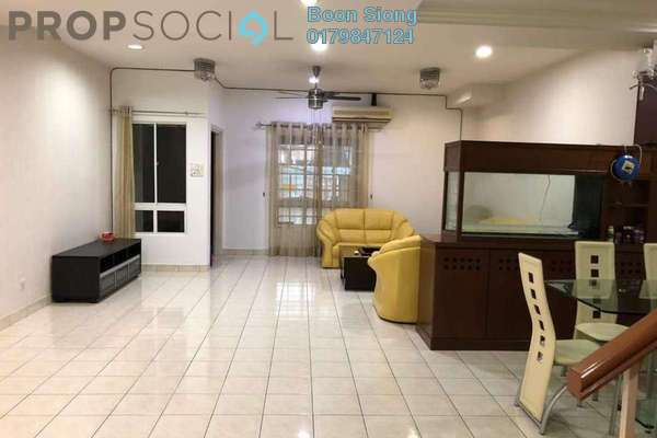 For Rent Townhouse at Villa Saujanis, Segambut Freehold Semi Furnished 4R/3B 2k