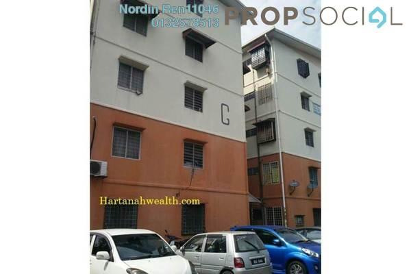 For Sale Apartment at BP14, Bandar Bukit Puchong Freehold Semi Furnished 3R/2B 180k