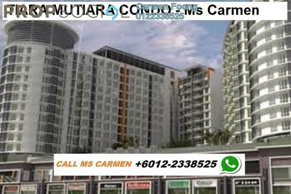 For Rent Condominium at Tiara Mutiara, Old Klang Road Freehold Semi Furnished 3R/2B 1.45k