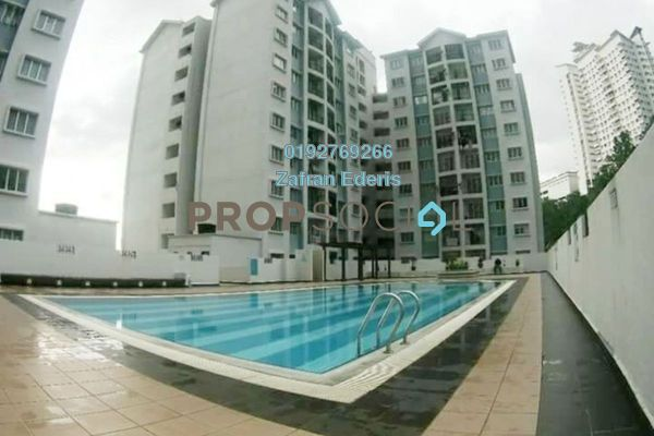 For Sale Condominium at Nusa Mewah, Cheras Freehold Unfurnished 3R/2B 310k