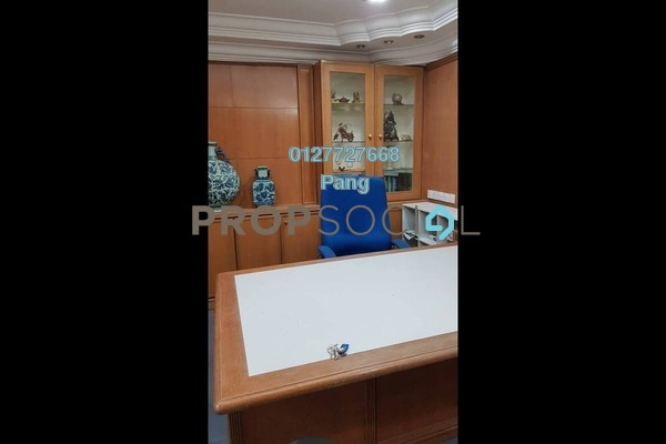 For Rent Office at Megan Avenue 2, KLCC Freehold Semi Furnished 0R/0B 5.5k