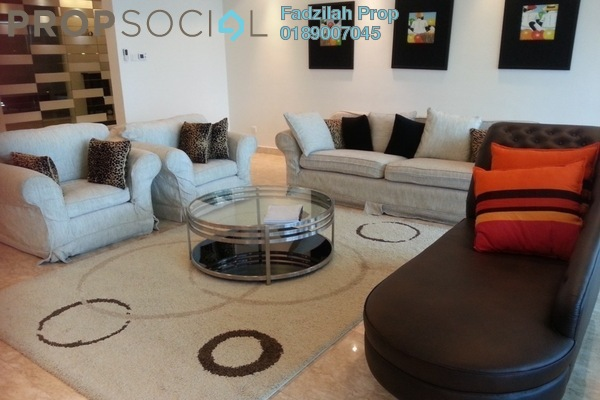 For Sale Condominium at 10 Mont Kiara, Mont Kiara Freehold Fully Furnished 4R/5B 3.2m