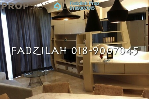 For Rent Condominium at VERVE Suites, Mont Kiara Freehold Fully Furnished 2R/2B 4.4k