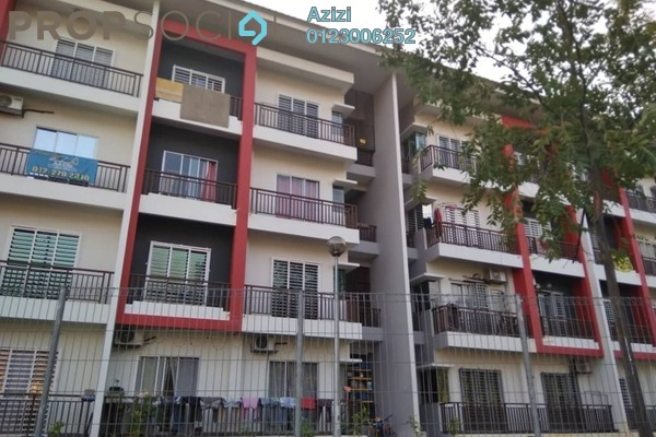 For Sale Condominium at Embun Residence @ Taman Puncak Saujana, Kajang Freehold Semi Furnished 3R/2B 345k