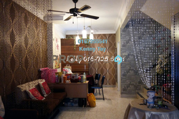 For Sale Terrace at Taman Sri Sinar, Segambut Freehold Fully Furnished 3R/2B 698k