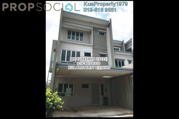 For Sale Townhouse at Academia Lane, Kota Samarahan Leasehold Unfurnished 4R/4B 570k
