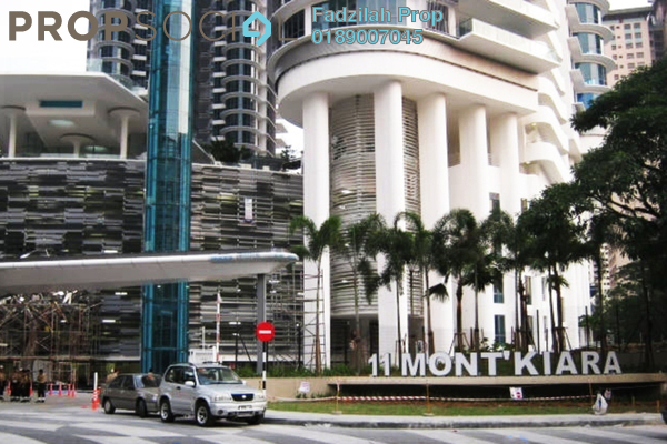 For Rent Condominium at 11 Mont Kiara, Mont Kiara Freehold Fully Furnished 4R/6B 14k