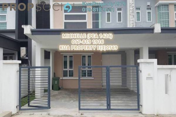 For Rent Terrace at Tabuan Tranquility, Kuching Freehold Semi Furnished 4R/3B 1.6k