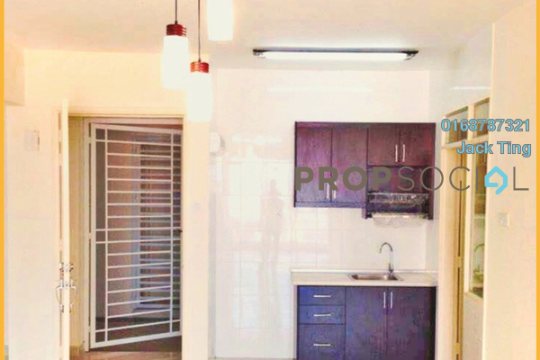 For Rent Condominium at Platinum Hill PV2, Setapak Freehold Semi Furnished 3R/2B 1.8k