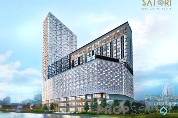 For Sale Serviced Residence at Satori, Melaka Freehold Fully Furnished 1R/1B 282k