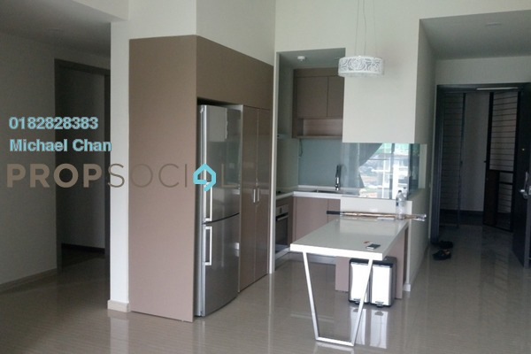 For Sale Serviced Residence at Twin Arkz, Bukit Jalil Freehold Semi Furnished 2R/2B 1m