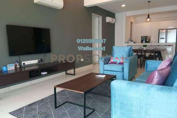 For Rent Condominium at Jazz Residence, Seri Tanjung Pinang Freehold Fully Furnished 3R/2B 4k