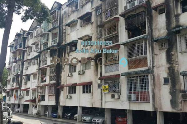 For Sale Apartment at Grandeur Tower, Pandan Indah Freehold Unfurnished 3R/2B 280k