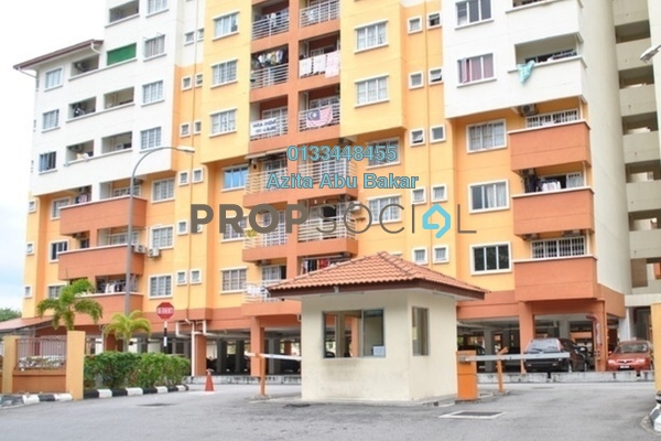 For Sale Apartment at Serdang Villa Apartment, Seri Kembangan Leasehold Unfurnished 3R/2B 350k