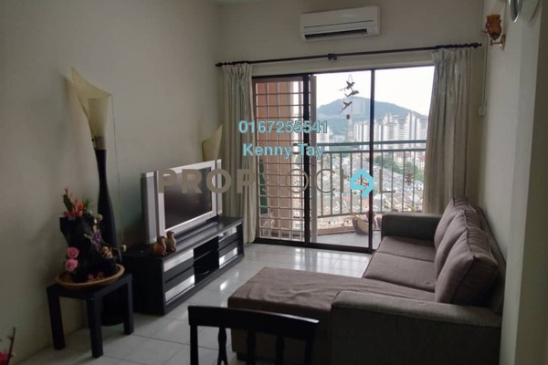 For Rent Condominium at Ixora Apartment, Kepong Freehold Fully Furnished 3R/2B 1.2k