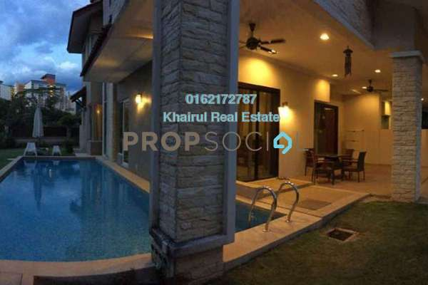 For Sale Semi-Detached at Beverly Heights, Ukay Leasehold Semi Furnished 6R/7B 2.8m