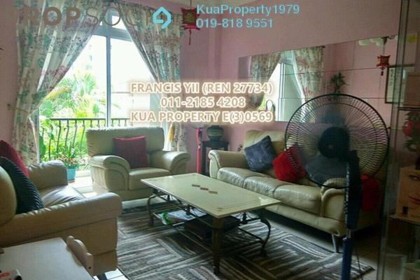 For Sale Apartment at Taman Hui Sing, Kuching Leasehold Fully Furnished 3R/2B 550k