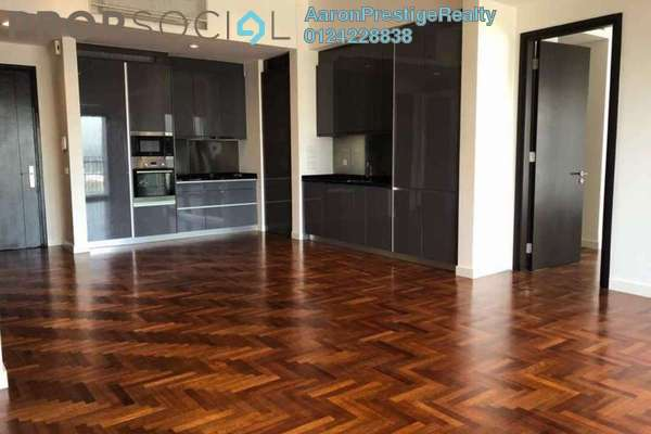 For Rent Serviced Residence at The Mews, KLCC Freehold Semi Furnished 1R/1B 3k