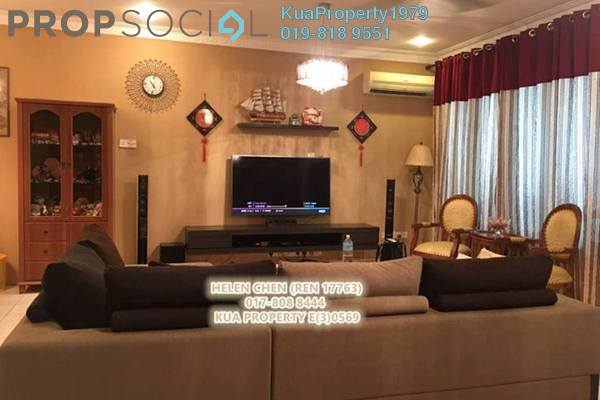 For Sale Terrace at Metro Park, Kuching Leasehold Fully Furnished 4R/3B 750k