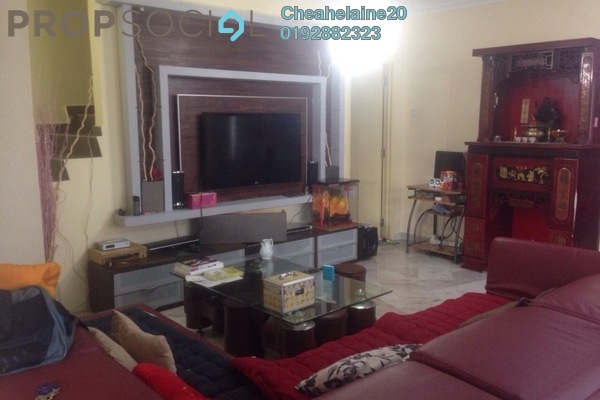 For Sale Terrace at Taman Intan Baiduri, Selayang Freehold Semi Furnished 4R/3B 790k