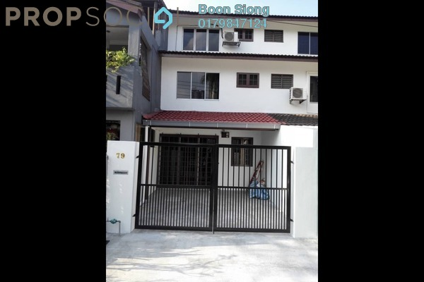 For Rent Terrace at Taman Sri Sinar, Segambut Freehold Unfurnished 3R/2B 1.2k